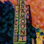 "Paramount Theatre   BOSTON (Copyright © Paula Ogier 2009) 18"" x 24"" / $135"