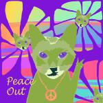 Peace Out (Copyright © 2015 Paula Ogier)